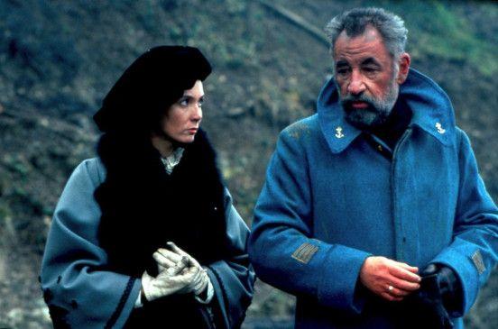 Haben selten Grund zur Freude: Philippe Noiret und Sabine Azema