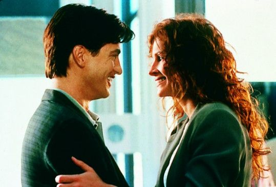 Ja, ich bin glücklich! Julia Roberts und Dermot Mulroney