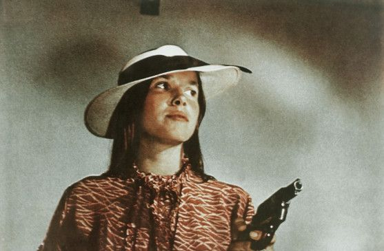 Begeht laufend Überfalle: Barbara Hershey als Boxcar Bertha