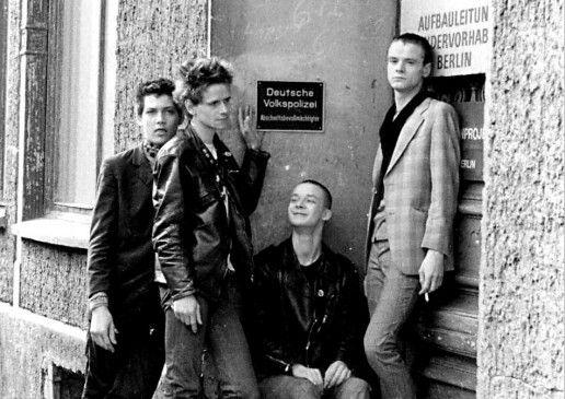 Ostberliner Punks in den Achtzigerjahren
