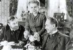 Wer will hier wem den Kopf waschen? Edward G. Robinson, Ruth Gordon und Otto Kruger (v.l.)