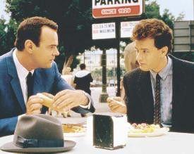 Wir müssen einfach bissiger werden! Dan Aykroyd  (l.) und Tom Hanks