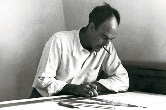 Architekt bei der Arbeit: John Lautner