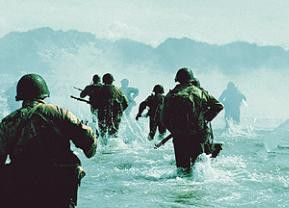Der Tag X hat begonnen - US-Soldaten landen in der Normandie