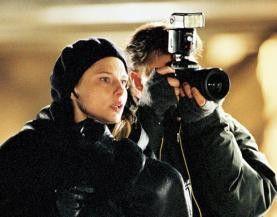 Fotografier endlich! Helena Bergström als Reporterin