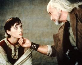 Na, das ist doch mal ein hübsches Gesicht!  Burt  Reynolds und Hayley DuMond