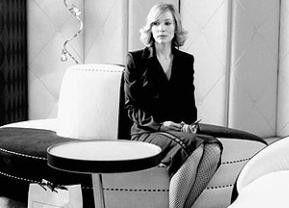 Wo bleibt nur der Kaffee? Cate Blanchett