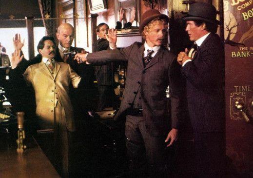 Tom Berenger (r.) und William Katt (M.) als Butch Cassidy und Sundance Kid