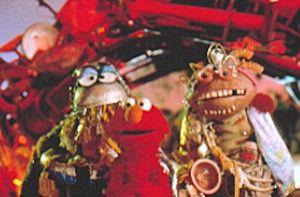 Wo ist der arme Elmo (M.) da nur  hingeraten?