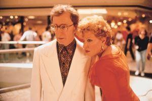 Entsetzt von den gegenseitigen Geständnissen: Woody  Allen und Bette Midler