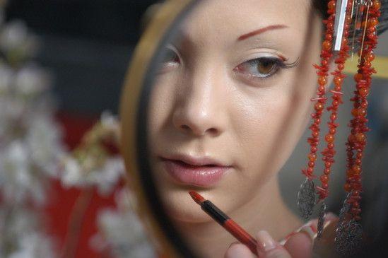 Immer hübsch anhübschen: Anna Tsuchiya