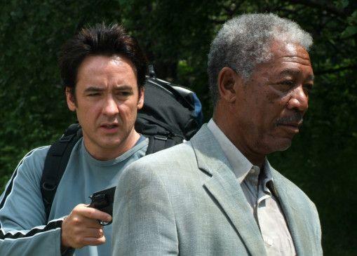 Den Killer unter Kontrolle? John Cusack und Morgan Freeman