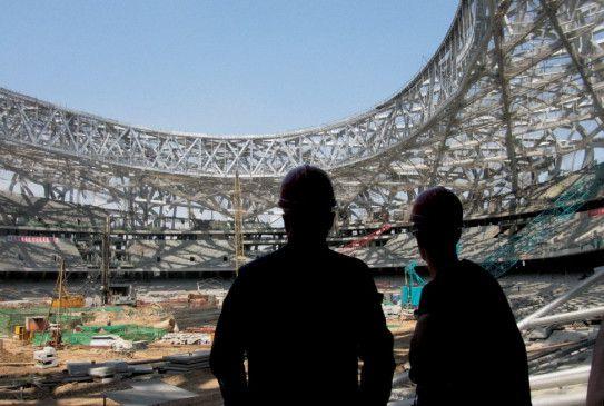 """2007 regierten im """"National Stadium"""" von Peking noch die Bagger"""