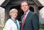Die Geirchtsmedizinerin und der Inspektor: Clare Holman und Kevin Whately