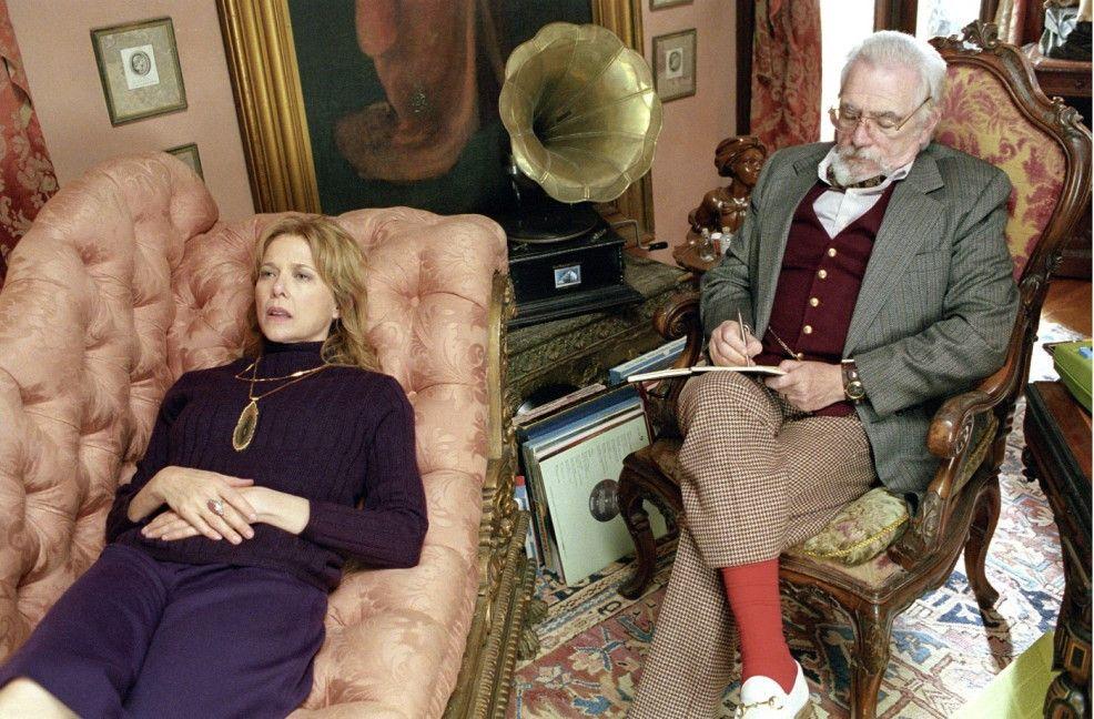 Mir geht's gut! Deidre (Annette Bening) auf Dr. Finchs (Brian Cox) Couch