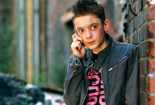 Jugendlicher Eigenbrödler: Filip Garbasz als Tomek
