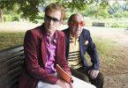 Musiker unter sich: Peter Lohmeyer (l.) und Paul Kuhn