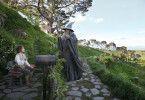 Erste Begegnung: Martin Freeman (l.) und Ian McKellen als Bilbo und Gandalf