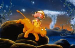 Komm Löwe, lass uns noch ein bisschen wandern