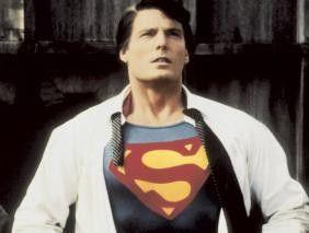 Muskulös: Christopher Reeve als Superman