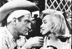 Komm Kleines, ich helf dir! Montgomery Clift mit Marilyn Monroe