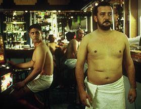 Nein, ich werde den Bauch nicht einziehen! José Luis García-Pérez (r.) als Pedro