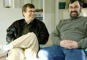 Frührentner: Chuck Whitmer (l.) und Walt Moore leben von ihren Aktiengewinnen