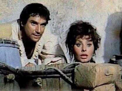 Jetzt kommen sie wieder! Sophia Loren mit Robert Hossein
