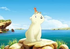 Eine seltsame Insel! Eisbär Lars und sein kleiner Freund