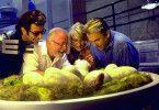 Ein neues Leben erwacht: Jeff Goldblum, Richard Attenborough, Laura Dern und Sam Neill (v.l.)