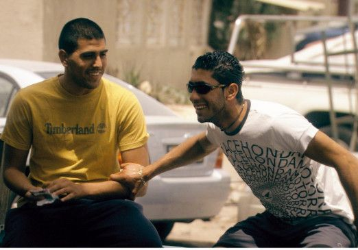 Spaß am Leben: Shahir Kabaha (l.) als Omar