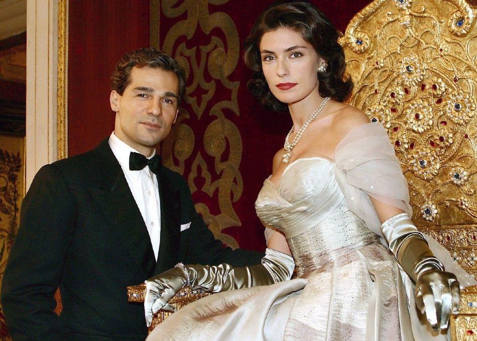 Zwei, die sich lieben: der Schah (Erol Sander) und Soraya (Anna Valle)