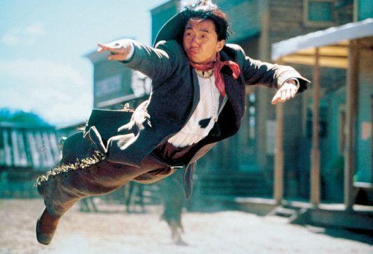 Und flugs zum Erfolg: Jackie Chan im Wilden Westen