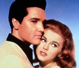 Schmuckes Paar: Elvis Presley mit Ann-Margret