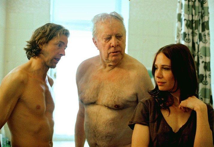 Nackte Tatsachen! Nadeshda Brennicke mit Stephan Ullrich und Heinz Baumann (M.)