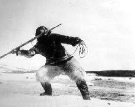 Ohne Fleiß kein Fleisch: Eskimo auf der Jagd