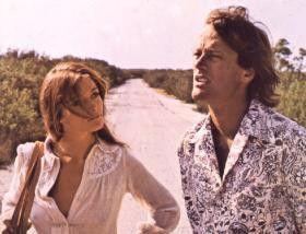 Margot Kidder und Peter Fonda genießen die vermeintliche Freiheit