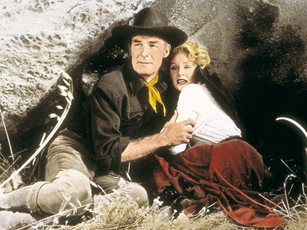 Keine Angst, ich beschütze dich! Randolph Scott mit Lucille Norman