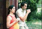 Glücklich sieht anders aus: Annika Kuhl und Stefan Rudolf
