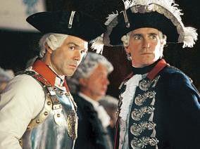 Also, mir gefällt der Trenck! August Zirner (r.) als Friedrich der Große mit Hannes Jaenicke