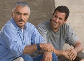 Aus alt mach neu: Burt Reynolds und Adam Sandler