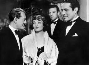 Ach Sie sind die Lady des Boxers! Otto Kruger, Myrna Loy  und Max Baer (v.l.)
