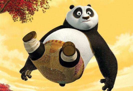 Jeder bekommt sein Fett weg! Panda Po in Aktion