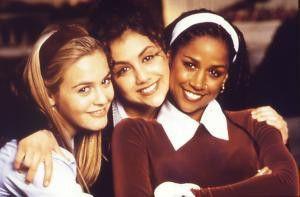 Munteres Teenie-Trio: Alicia Silverstone, Brittany  Murphy und Stacey Dash