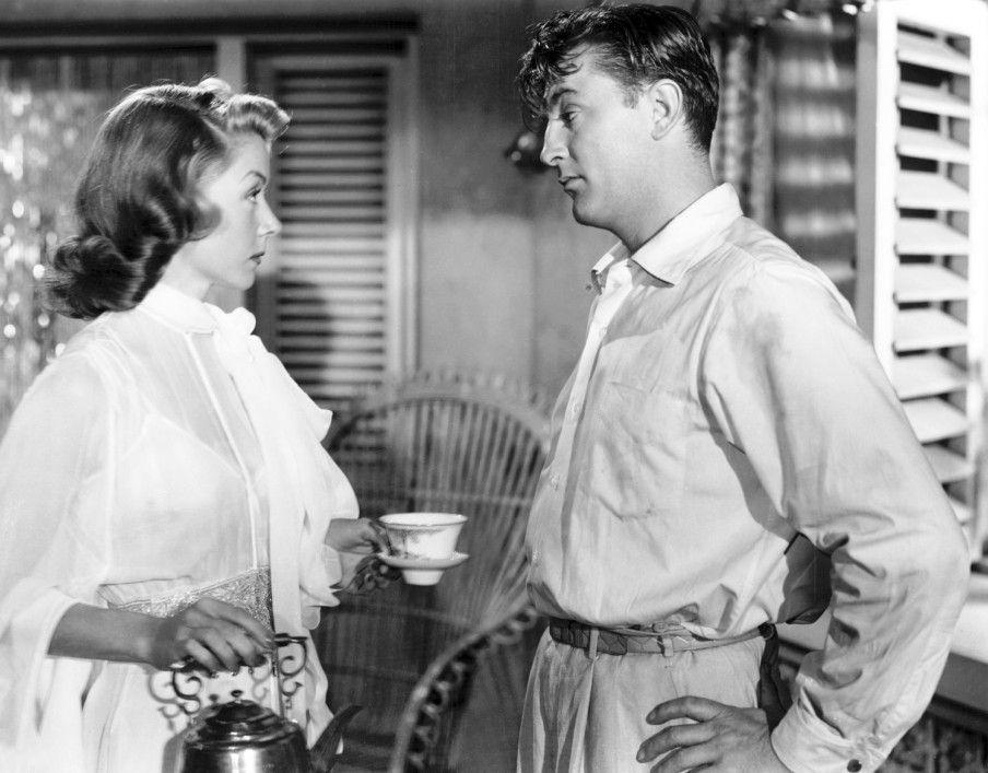 Du gefällst mir, Kleines! Robert Mitchum mit Jane Russell