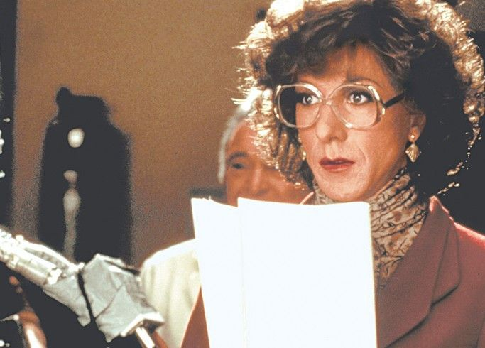 """Na, na, na. """"Geile Schnecke"""" sagt man aber nicht - Dustin Hoffman als Dorothy"""