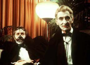 Horror ist unser täglich Brot! Vincent Price (l.)  und Peter Cushing