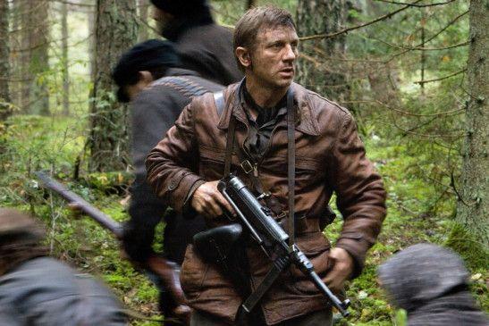Versteckt sich im Wald: Daniel Craig