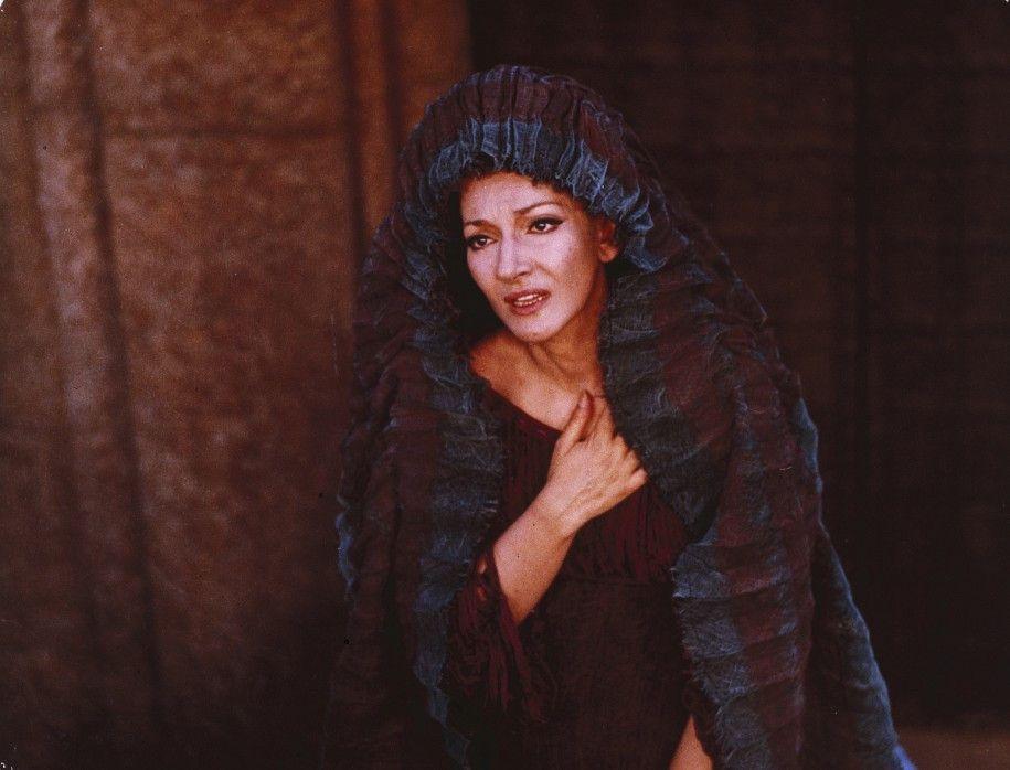 Die wohl berühmteste Opersängerin des 20. Jahrhunderts, Maria Callas, in ihrer Paraderolle als Medea