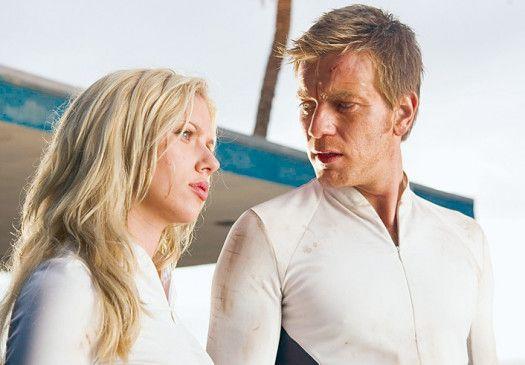 Was soll aus den Klonen werden? Ewan McGregor  und Scarlett Johansson